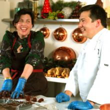 MARC AND KIRSTIE ALLSOPP MAKE LUXURY TRUFFLES - 01.12.2009